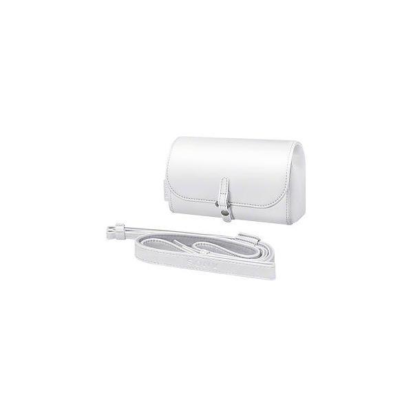 ソニー ケース&ストラップキット LCS-MCS2 WC ホワイトの画像