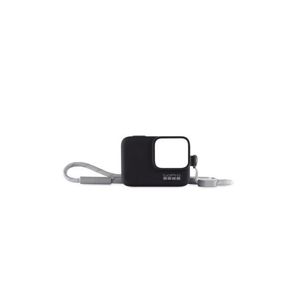GoPro ACSST-001 スリーブ + ランヤード ブラックの画像