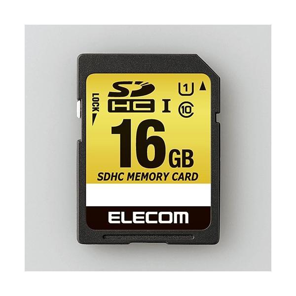 エレコム MF-CASD016GU11A ドラレコ/カーナビ向け 車載用SDHCメモリカード 16GB yamada-denki