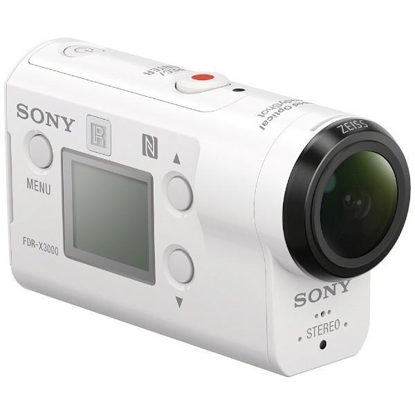 ソニー FDR-X3000R デジタル4Kビデオカメラレコーダー アクションカム ライブビューリモコンキット|yamada-denki|02
