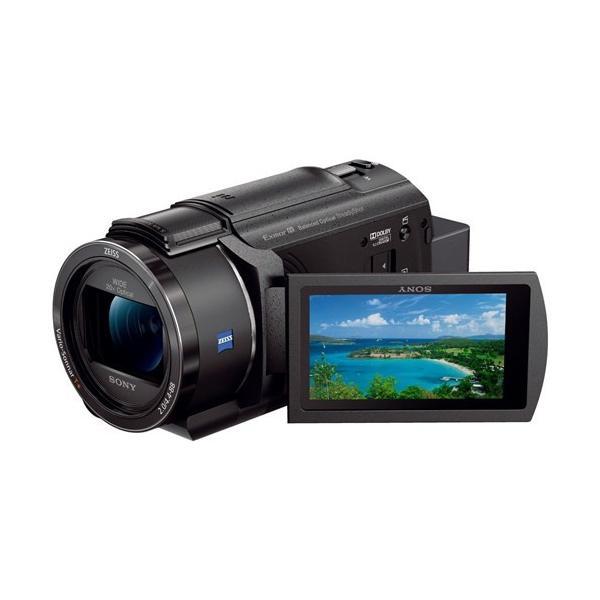 【送料無料】 ハンディカム ブラック SONY FDR-AX45 B [デジタル4Kビデオカメラ]
