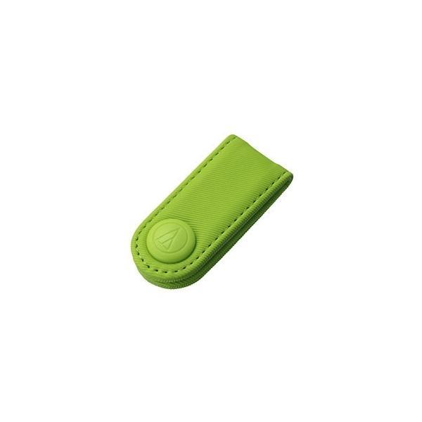 オーディオテクニカ AT-CW5-LGR コード巻き取りホルダー (ライトグリーン)