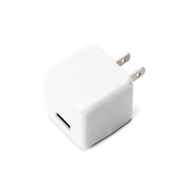 PGA USB用電源アダプタ1ポート2.1A PG-UAC21A02WH ホワイトの画像
