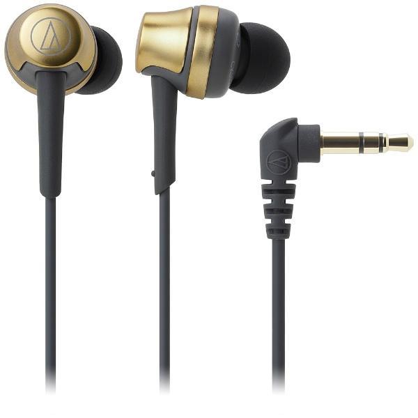オーディオテクニカ インナーイヤー高音質タイプ ATH-CKR50 GD イエローゴールドの画像