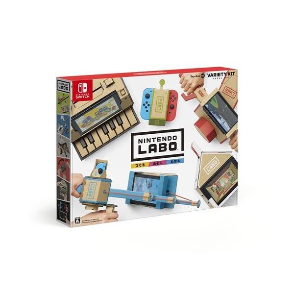 Nintendo Labo Toy-Con 01: Variety Kit HAC-R-ADFUA ニンテンドーラボ トイコンバラエティキット|yamada-denki