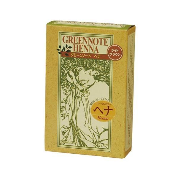 グリーンノート ヘナハーバルカラー・ライトブラウン100g ヘアケア雑貨|yamada-denki