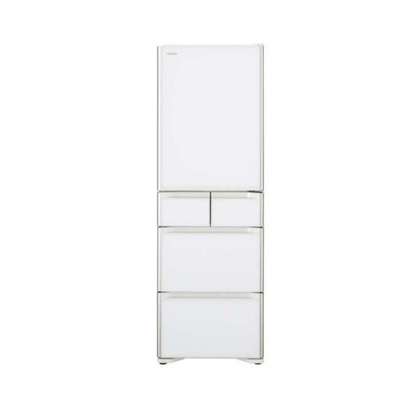 日立 冷蔵庫 R-S40JL(XW) クリスタルホワイト 左開き 内容量:401リットルの画像