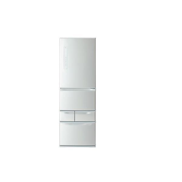 【無料長期保証】東芝 GR-P41G(S) 5ドア冷蔵庫 (411L・右開き)「VEGETA(ベジータ)」 シルバー|yamada-denki