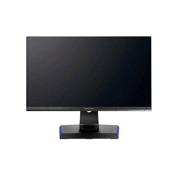 I-O DATA 23.8型ワイド ゲーミング液晶ディスプレイ GigaCrysta 広視野角ADSパネル採用&WQHD対応 LCD-GCQ241XDB ブラックの画像