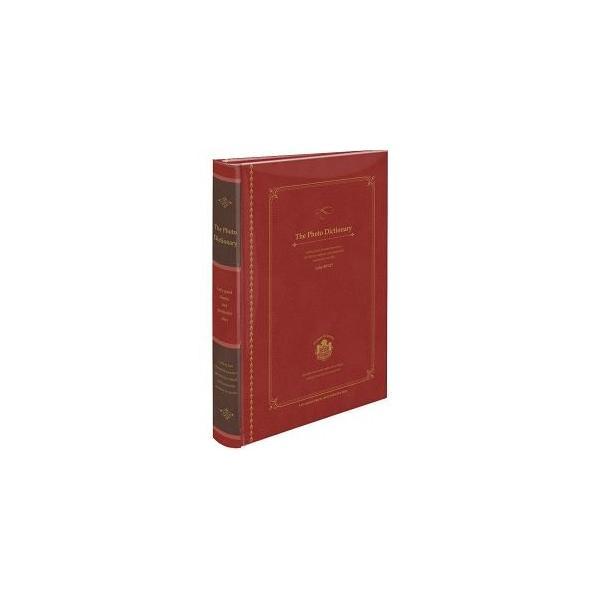 ナカバヤシ BPL-240-2-R 背丸ブック式 L判3段 240枚収納 フォトディクショナリー レッドの画像