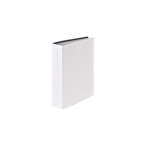 ナカバヤシ CTPL-240-W 超透明ポケットアルバム L判 248枚 ホワイトの画像