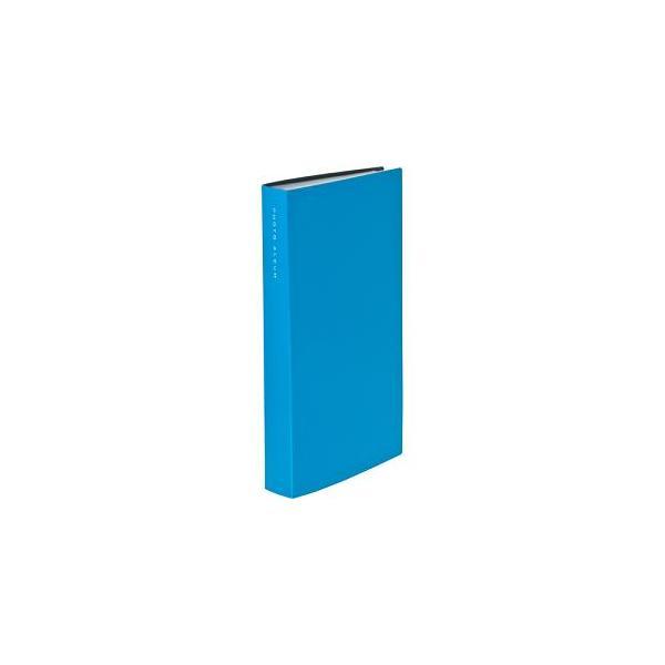 ナカバヤシ CTPL-300-BU 超透明ポケットアルバム L判 312枚 ブルーの画像