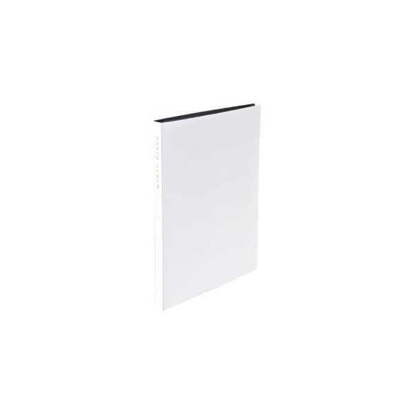 ナカバヤシ CTPKG-80-W 超透明ポケットアルバム KG判(はがき) 88枚 ホワイトの画像
