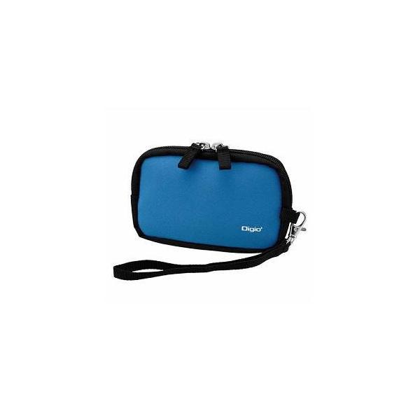ナカバヤシ DCC-058BL デジタルカメラケース Lサイズ ブルー