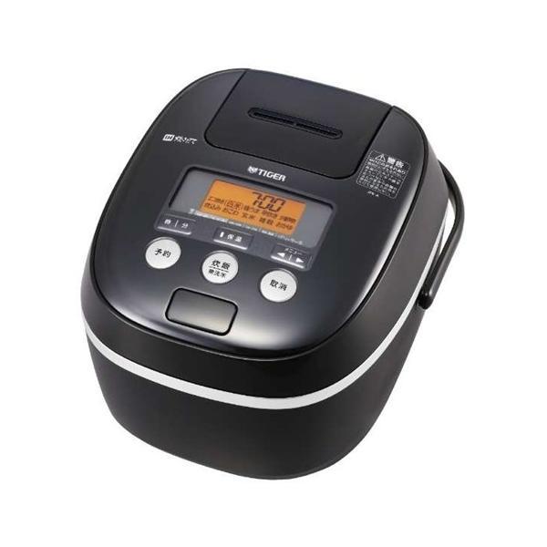タイガー魔法瓶 IH炊飯器 JPE-A181 K ブラック 炊飯容量:1升の画像