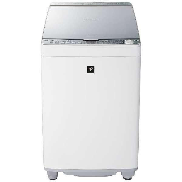 【無料長期保証】シャープ ES-PX8B-S プラズマクラスター洗濯乾燥機 (洗濯8.0kg/乾燥4.5kg) シルバー系|yamada-denki|02