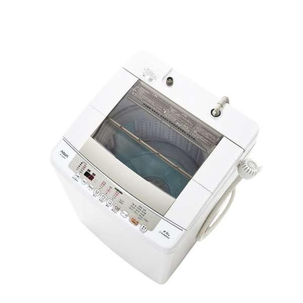 アクア 全自動洗濯機 AQW-VW80G(W) ホワイト 洗濯容量:8.0kgの画像