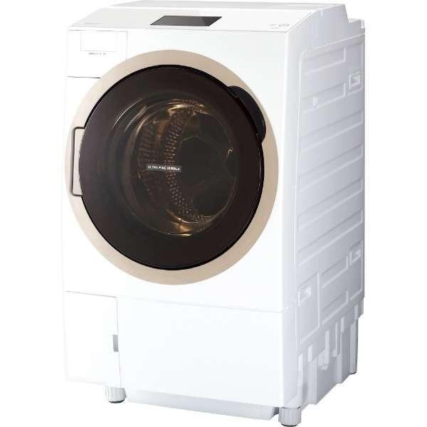 TW-127X7L-W ドラム式洗濯乾燥機 「ZABOON」 (洗濯12.0kg /乾燥7.0kg・左開き) (グランホワイト) (W) 東芝 TW127X7L