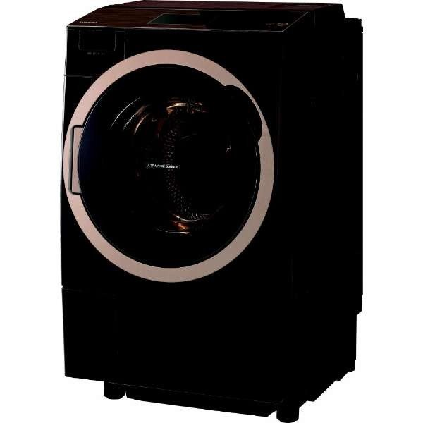 12kgドラム式洗濯乾燥機 ZABOON [グレインブラウン] 右開き 東芝 TW-127X7R(T)