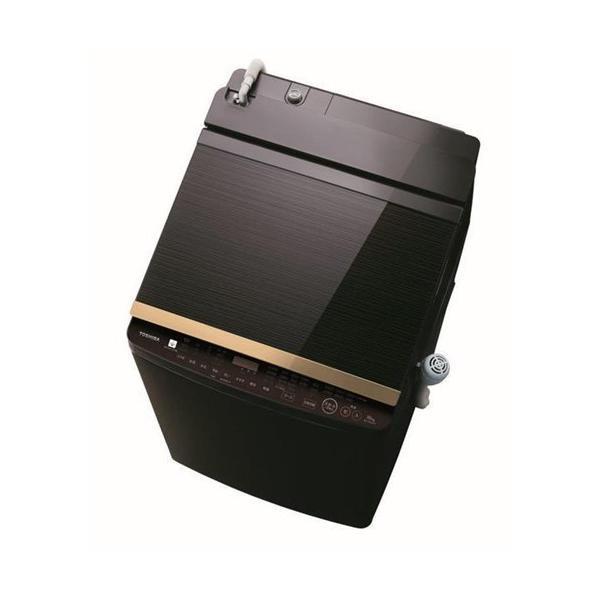 【無料長期保証】東芝 AW-10SV8(T) タテ型洗濯乾燥機 (洗濯脱水10kg / 乾燥5kg) グレインブラウン