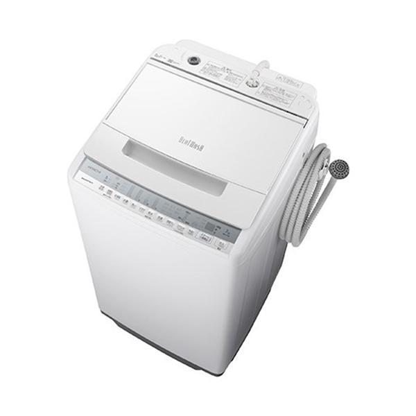 長期保証 洗濯機日立7KGBW-V70FW全自動洗濯機ビートウォッシュ(洗濯7kg)ホワイト