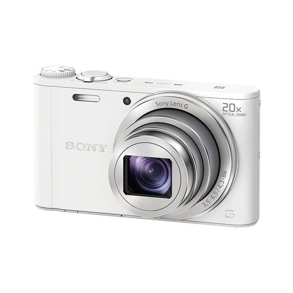 ソニー デジタルカメラ Cyber-shot(サイバーショット) DSC-WX350 W ホワイト yamada-denki