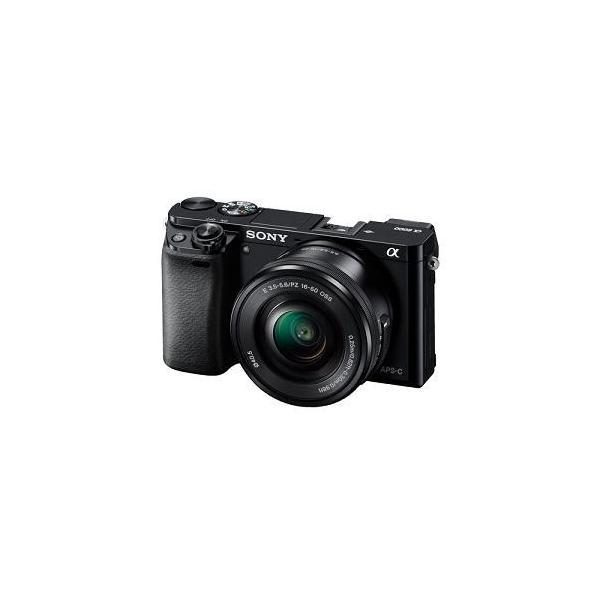 ソニー ILCE-6000L-B デジタル一眼カメラ α6000 パワーズームレンズキット (ブラック)