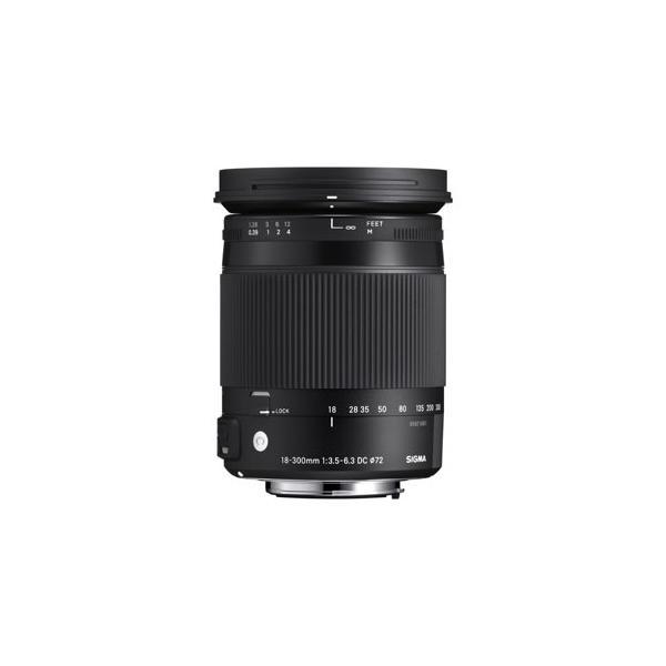 シグマ 交換用レンズ 18-300mm F3.5-6.3 DC MACRO OS HSM(キヤノン用)