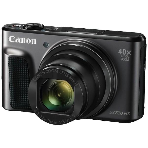 キヤノン PSSX720HS(BK) デジタルカメラ PowerShot(パワーショット) SX720 HS(ブラック)|yamada-denki