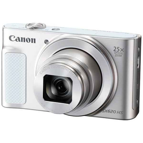 キヤノン PSSX620HSWH デジタルカメラ PowerShot(パワーショット) SX620 HS(ホワイト)|yamada-denki