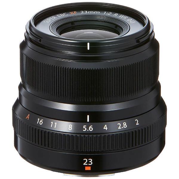 富士フイルム XF23MMF2RWRB 交換用レンズ XF23mm F2 R WR ブラック