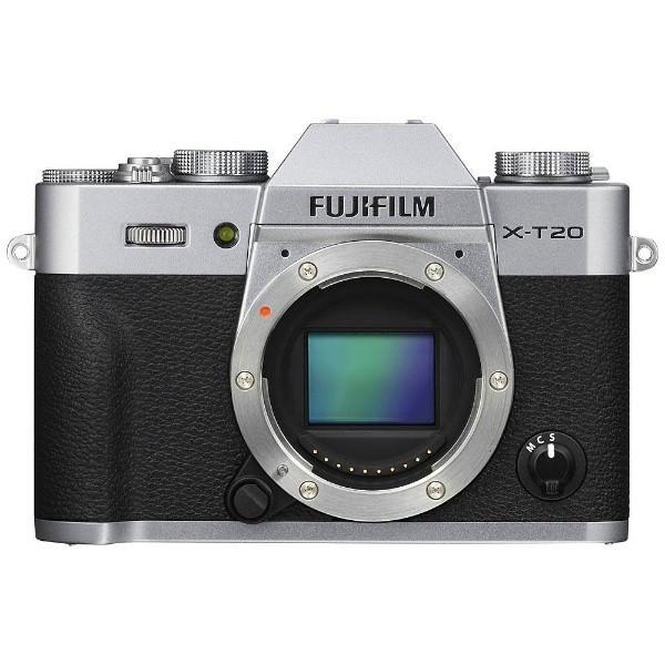 富士フイルム FX-T20-S ミラーレス一眼カメラ「FUJIFILM X-T20」 ボディ (シルバー)