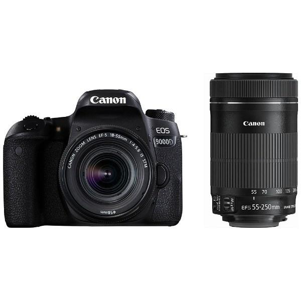 キヤノン EOS9000D-WKIT デジタル一眼カメラ「EOS 9000D」ダブルズームキット|yamada-denki