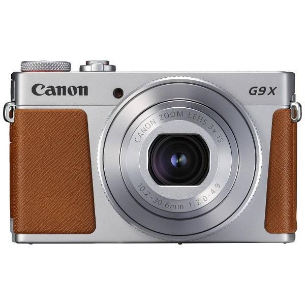 キヤノン PSG9XMK2SL コンパクトデジタルカメラ PowerShot(パワーショット) G9 X Mark II(シルバー) yamada-denki 02
