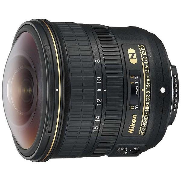 ニコン AFS8-15E 交換用レンズ AF-S Fisheye NIKKOR 8-15mm F3.5-4.5E ED