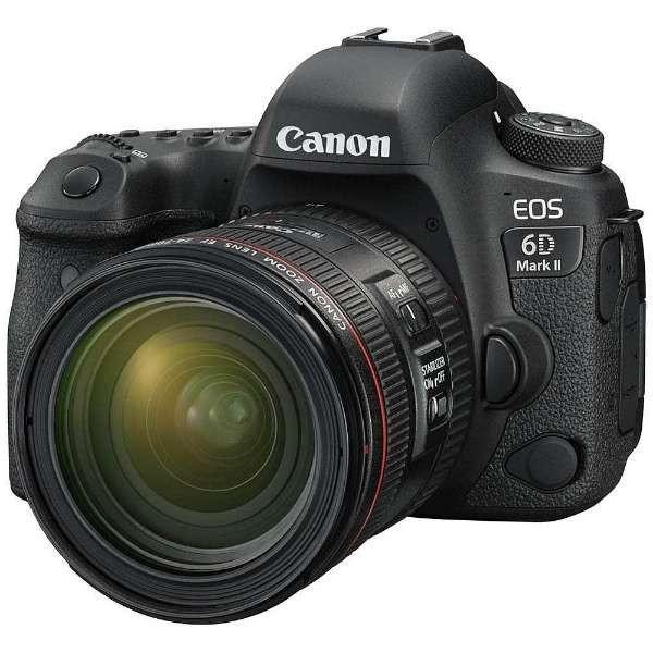 キヤノン EOS6DMK2-L2470K デジタル一眼カメラ EOS 6D Mark II EF24-70 F4L IS USM レンズキット