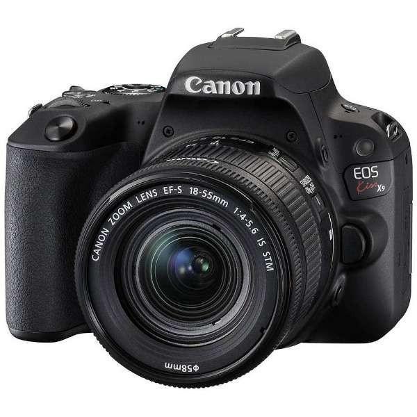 キヤノン EOSKISSX9-L1855KBK デジタル一眼カメラ EOS Kiss X9 EF-S18-55 F4 STM レンズキット ブラック