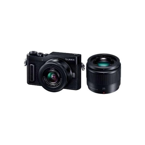 パナソニック DC-GF10W-K デジタル一眼カメラ 「LUMIX DC-GF10」 ダブルレンズキット ブラック yamada-denki