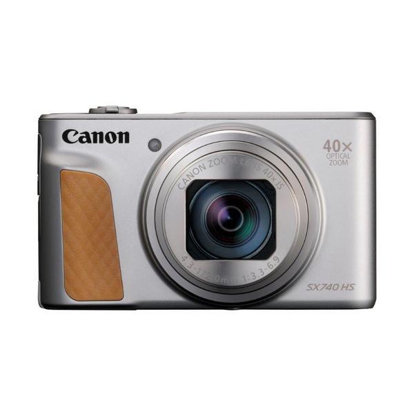 キヤノン PSSX740HSSL コンパクトデジタルカメラ PowerShot(パワーショット) SX740 HS(シルバー)|yamada-denki