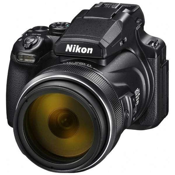 ニコン COOLPIXP1000 デジタルカメラ COOLPIX(クールピクス) P1000(ブラック)|yamada-denki