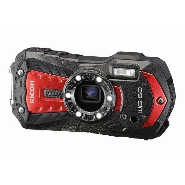 リコー WG-60RED デジタルカメラ「RICOH WG-60」(レッド)|yamada-denki
