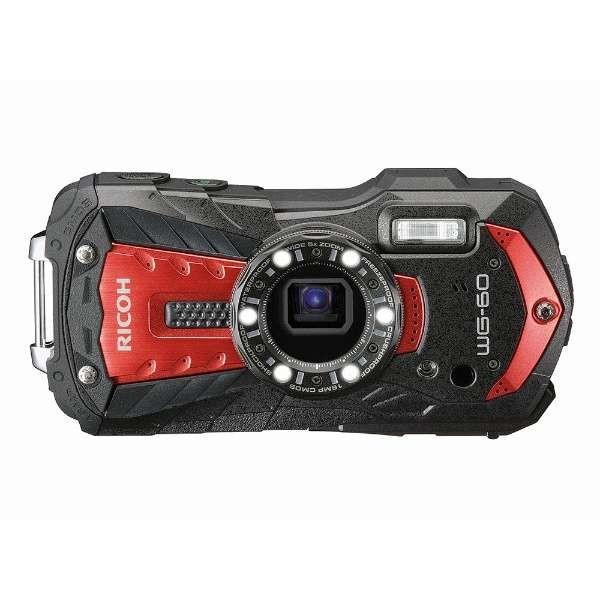 リコー WG-60RED デジタルカメラ「RICOH WG-60」(レッド)|yamada-denki|02