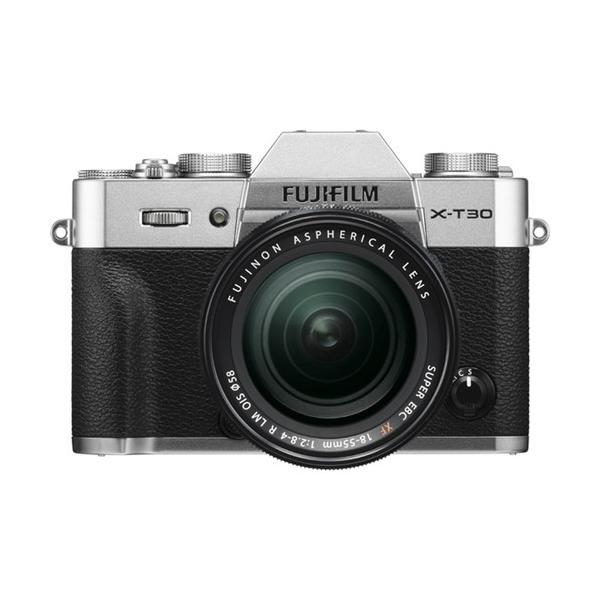 富士フイルム FUJIFILM X-T30 XF18-55mm ミラーレス一眼カメラ レンズキット シルバー