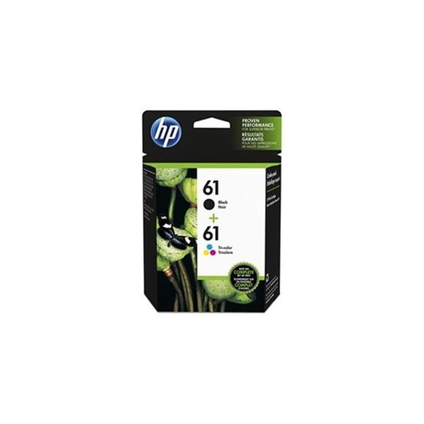 ヒューレットパッカード CR311AA インクカートリッジ HP61コンボパック (ブラック&3色カラー)|yamada-denki