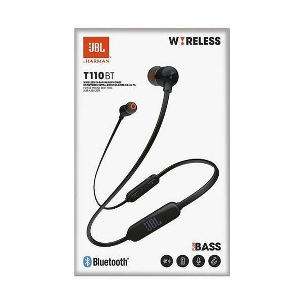 JBL JBLT110BTBLKJN Bluetoothワイヤレスカナルイヤホン ブラック|yamada-denki|03