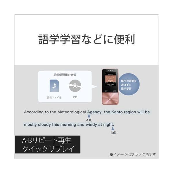 ソニー NW-S313-B ウォークマン Sシリーズ[メモリータイプ] 4GB ブラック