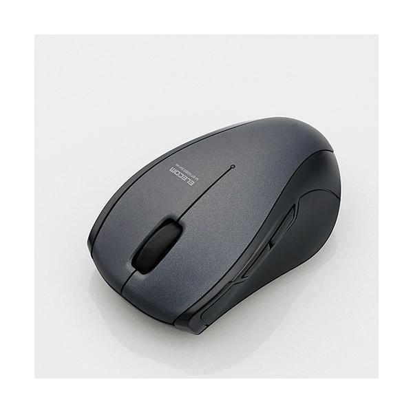 エレコム マウス/Bluetooth3.0/5ボタン M-BT16BBSBK ブラックの画像