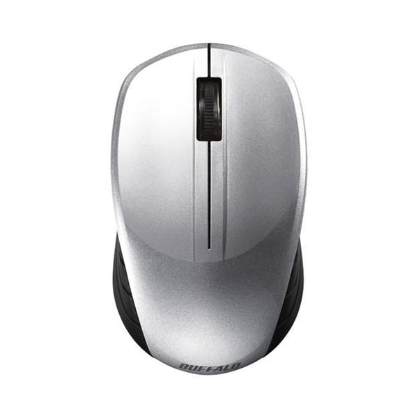 バッファロー 無線 BlueLED マウス BSMBW100SV シルバーの画像