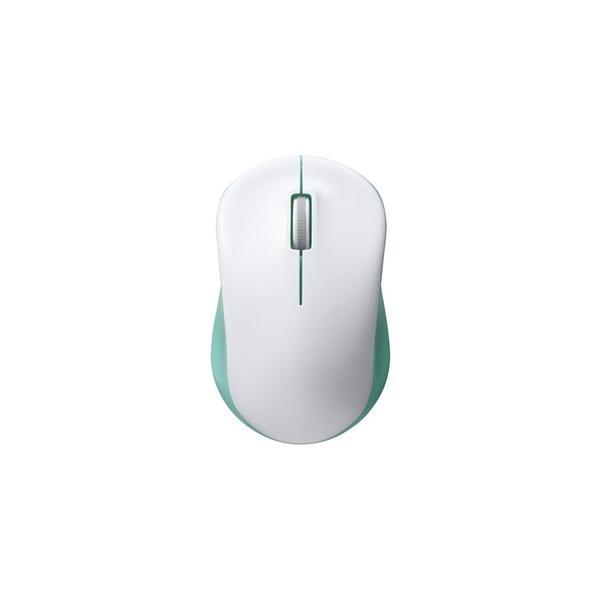 バッファロー 無線 IR光学式 3ボタン マウス BSMRW100GR グリーンの画像