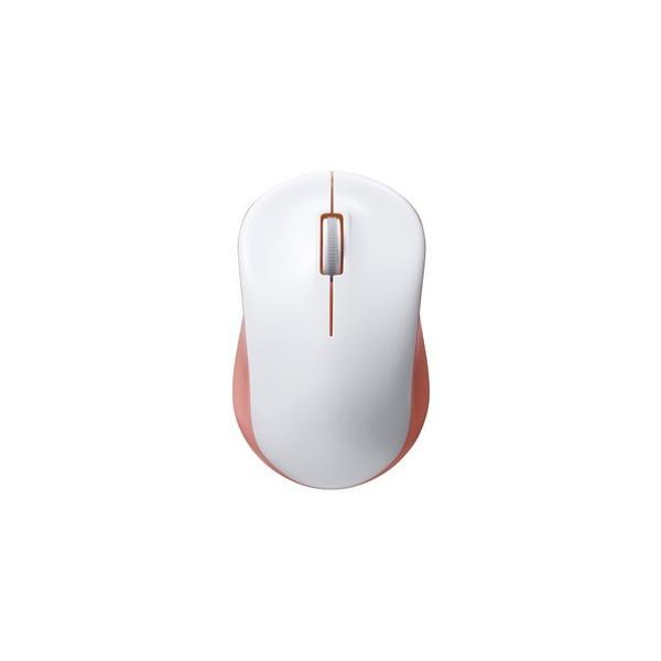 バッファロー 無線 IR光学式 3ボタン マウス BSMRW100PK ピンクの画像